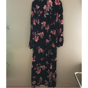 NWT Forever21 Plus maxi wrap dress